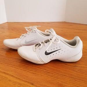 Nike Sideline 3 White Cheerleading Sneakers 6.5